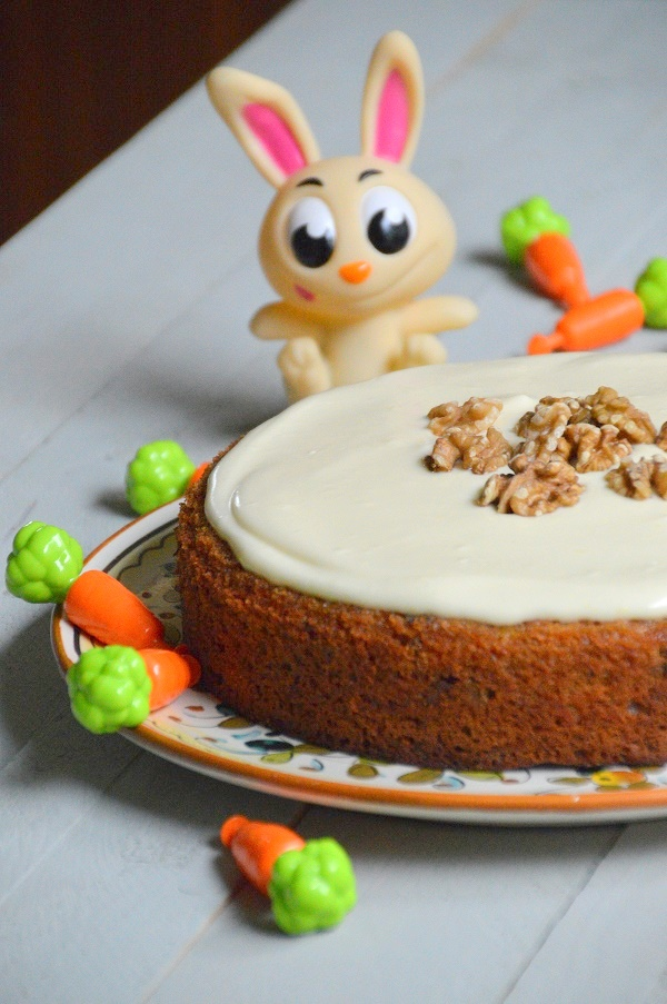 Worteltaart of carrot cake